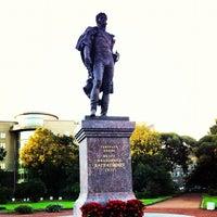 Photo taken at Памятник Багратиону by Valentine D. on 9/10/2012