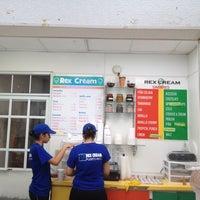 Photo taken at Rex Cream by Ravi S. on 6/15/2012