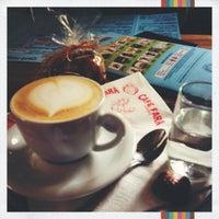 Photo taken at Café Fara by Adélka K. on 5/7/2012
