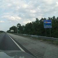 Photo taken at Alabama / Florida State Line by Christy K. on 8/12/2012