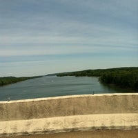 Photo taken at Tennessee River Bridge by Jim G. on 5/11/2012