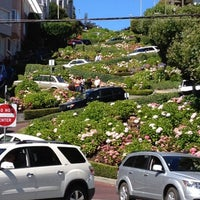 Photo taken at Lombard Street by Shruti P. on 8/6/2012