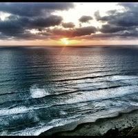 Photo taken at Black's Beach by Vikram M. on 5/27/2012
