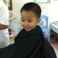 Photo taken at Kedai Gunting Rambut by MZS P. on 4/21/2012
