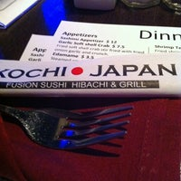 Photo taken at Kochi Japan Hibachi & Grill by Ben E. on 4/28/2012