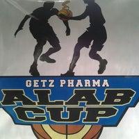 Photo taken at Brgy San Antonio Basketball Court by Kram M. on 8/25/2012