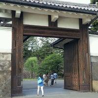 Photo taken at Sakuradamon Gate by yasuzoh on 5/19/2012