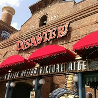 Photo taken at Disaster!: A Major Motion Picture Ride...Starring You! by Omar M. on 7/22/2012
