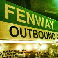 Photo taken at MBTA Fenway Station by Colin S. on 5/31/2012