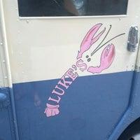 Photo taken at Nauti Mobile - Luke's Lobster Truck by Larry M. on 8/1/2012