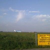 Photo taken at Spottersplaats Polderbaan by Hans W. on 4/29/2012