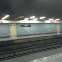 Photo taken at Metro Lo Vial by Bárbara M. on 4/13/2012