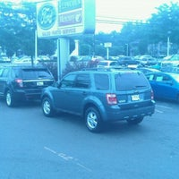 Photo taken at All American Ford of Paramus by Mike K. on 7/28/2012
