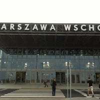 Photo taken at Warsaw East Railway Station by Krzysztof M. on 6/20/2012