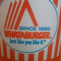 Photo taken at Whataburger by Felipe S. on 8/1/2012