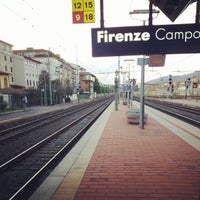 Photo taken at Firenze Campo di Marte Railway Station (FIR) by Stefano M. on 4/23/2012