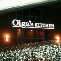 Photo taken at Olga's Kitchen by Megan J. on 9/8/2012