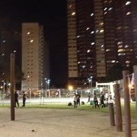 Photo taken at Praça Oswaldo Cruz by Letania K. on 7/24/2012