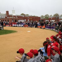 Photo taken at Beech Street Baseball Fields by Mike M. on 4/21/2012