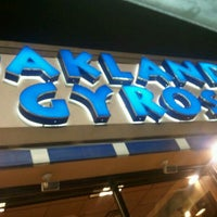 Photo taken at Oakland Gyros by LaGaBy C. on 2/8/2012
