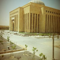 Photo taken at Princess Nourah Bint Abdulrahman University by a7lamm .. on 9/12/2012