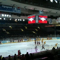 Photo taken at Tipsport Arena by Tomáš F. on 2/22/2012