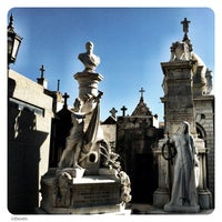 Photo taken at La Recoleta Cemetery by Beethoven M. on 3/16/2012