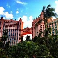 Photo taken at Atlantis Paradise Island by @24K on 3/2/2012