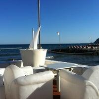 Photo taken at Bagni Ponterosso - Windsurf Center by Cristina B. on 7/17/2012