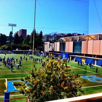 Photo taken at UCLA Spaulding Field by David S. on 4/21/2012