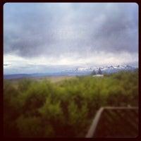 Photo taken at Munaðarnes by Einar Tryggvi L. on 6/15/2012