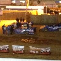 Photo taken at Lancaster Speedway by Richard on 4/8/2012