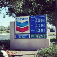 Photo taken at Chevron by Vicky T. on 8/10/2012