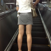 Photo taken at Baiyun Culture Square Metro Station by Yura S. on 6/12/2012