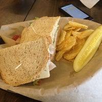 Photo Taken At Brown Bag Sandwich Co By Adam B On 9 7