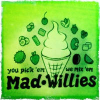 Photo taken at Mad Willie's Ice Cream by Charlie P. on 3/23/2012