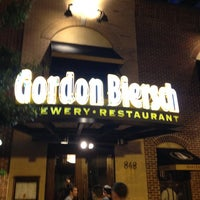 Photo taken at Gordon Biersch Brewery Restaurant by Carlton M. on 5/5/2012