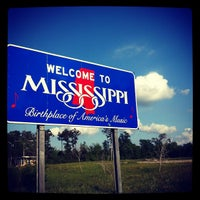 Photo taken at Louisiana-Mississippi State Line by Jessica G. on 4/1/2012