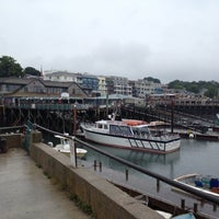 Photo taken at Bar Harbor Pier by Michy on 7/29/2012