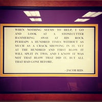 Photo taken at Lakers Locker Room by Nicole C. on 7/27/2012