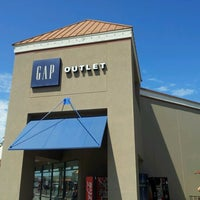 Photo taken at Gap Outlet by Jeremiah V. on 8/18/2012