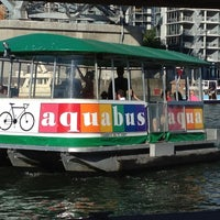 Photo taken at Aquabus Granville Island Dock by RR on 8/5/2012