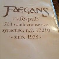 Photo taken at Faegan's Cafe & Pub by Chris F. on 9/7/2012