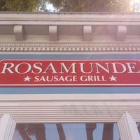 Photo taken at Rosamunde Sausage Grill by Nicolas T. on 5/19/2012