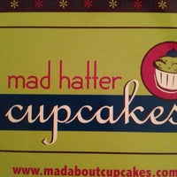 Photo taken at Mad Hatter Cupcakes by Tanya B. on 4/15/2012