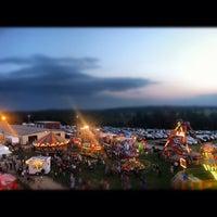 Photo taken at Goshen Fairgrounds by Lindsay K. on 9/2/2012