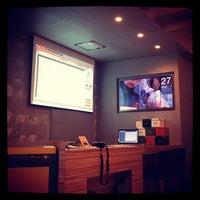 Photo taken at FabCafe Tokyo by Yutaka I. on 4/27/2012