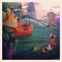 Photo taken at Peter Pan's Flight by Catfish B. on 8/2/2012