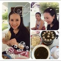 Photo taken at Baibua restaurant by Boom C. on 5/30/2012