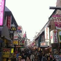 4/10/2012にEteriが原宿駅で撮った写真
